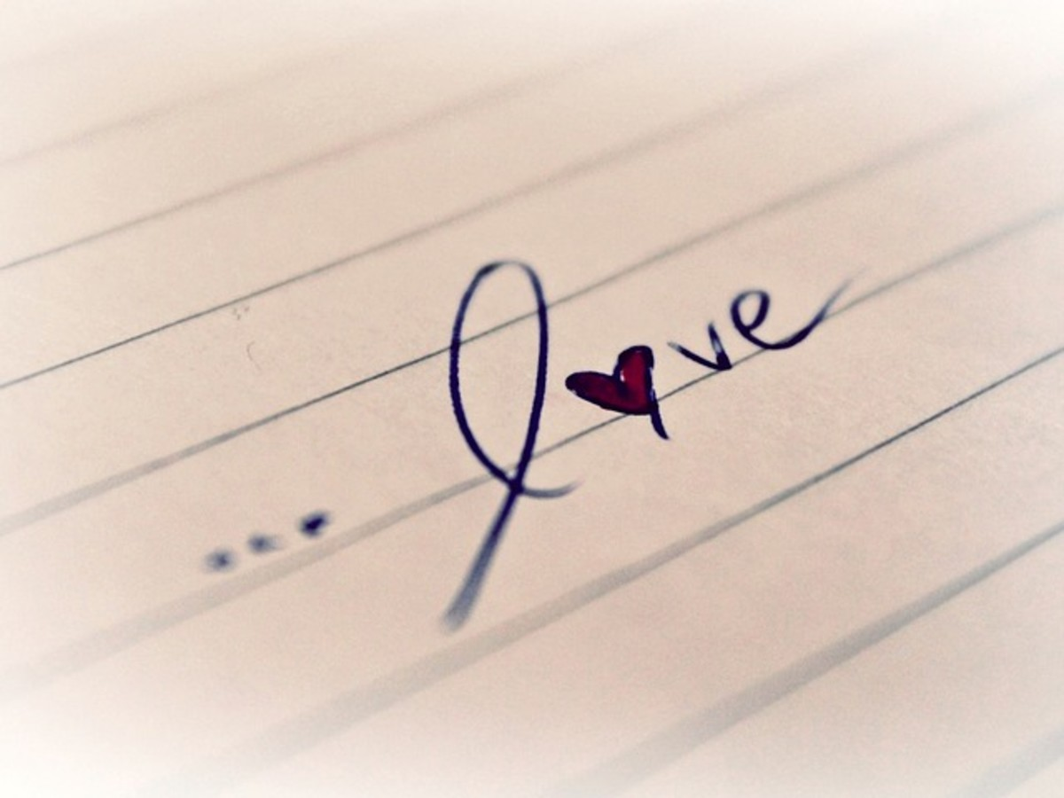 Love has no expectations...