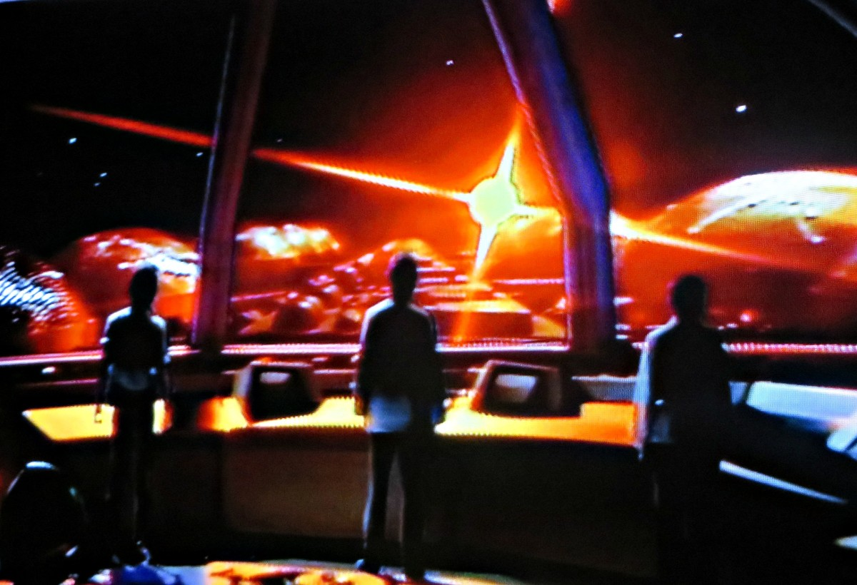 Garth, Devon, and Rachel, after finally escaping for Cypress Corner, they made it all the way to the command bridge of the great Starship Ark only to find the crew has been dead for hundreds of years and the ship is unmanned and the great ship is in