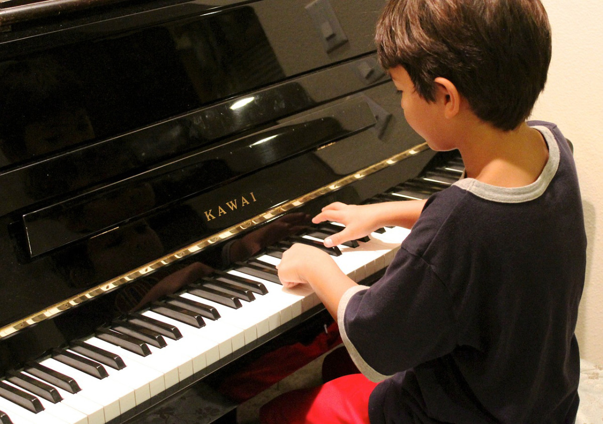 Boy at Piano