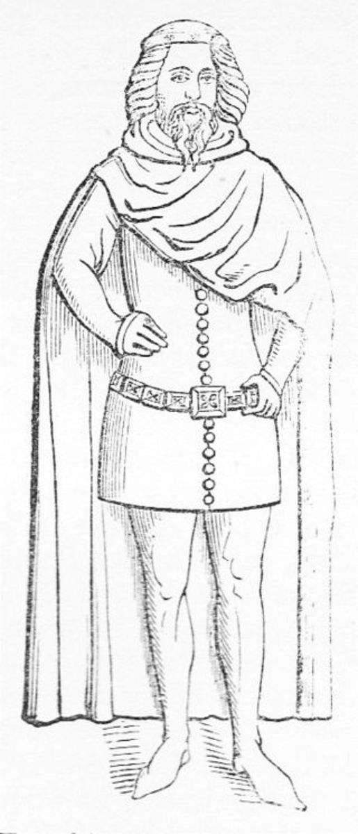 Lionel of Antwerp, Richard III's best line of succession, second son of Edward III, grew to be 7 feet tall.