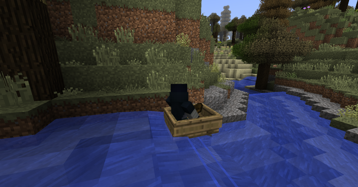 "Placing a boat in one of the mod's rivers and drifting down it is quite fun, and thanks to ""Minecraft Physics"" you can pilot your way up the waterfalls just as easily...."