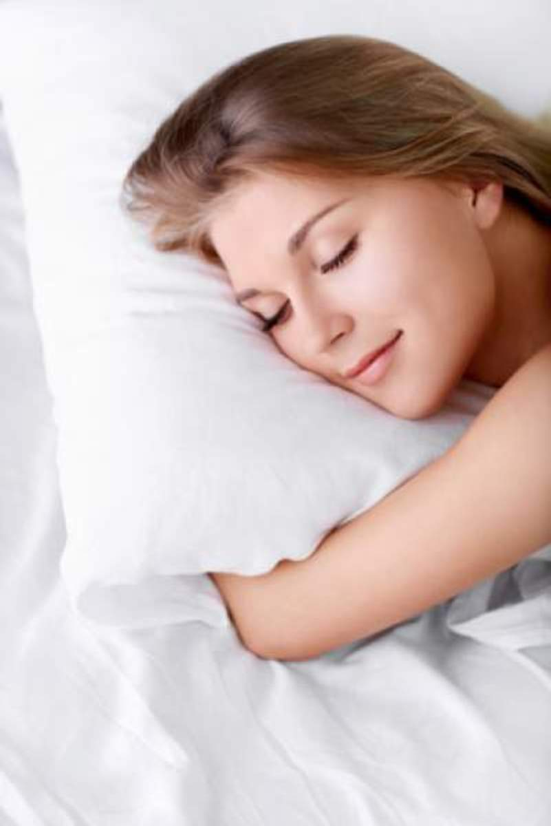 Prevent wrinkles sleeping with an anti-aging pillow.