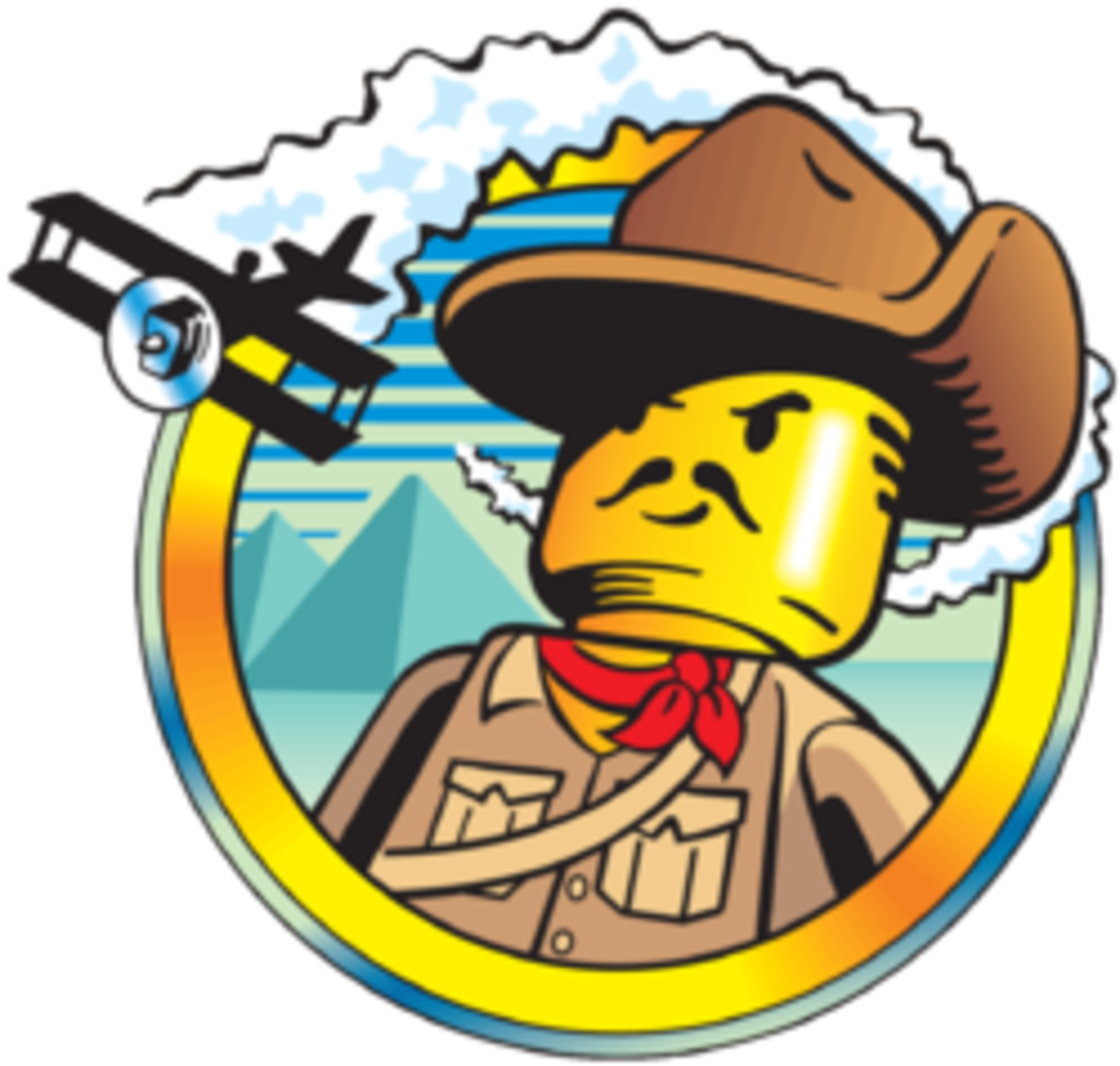 The logo for the Lego Adventurers sets. Sadly cancelled.