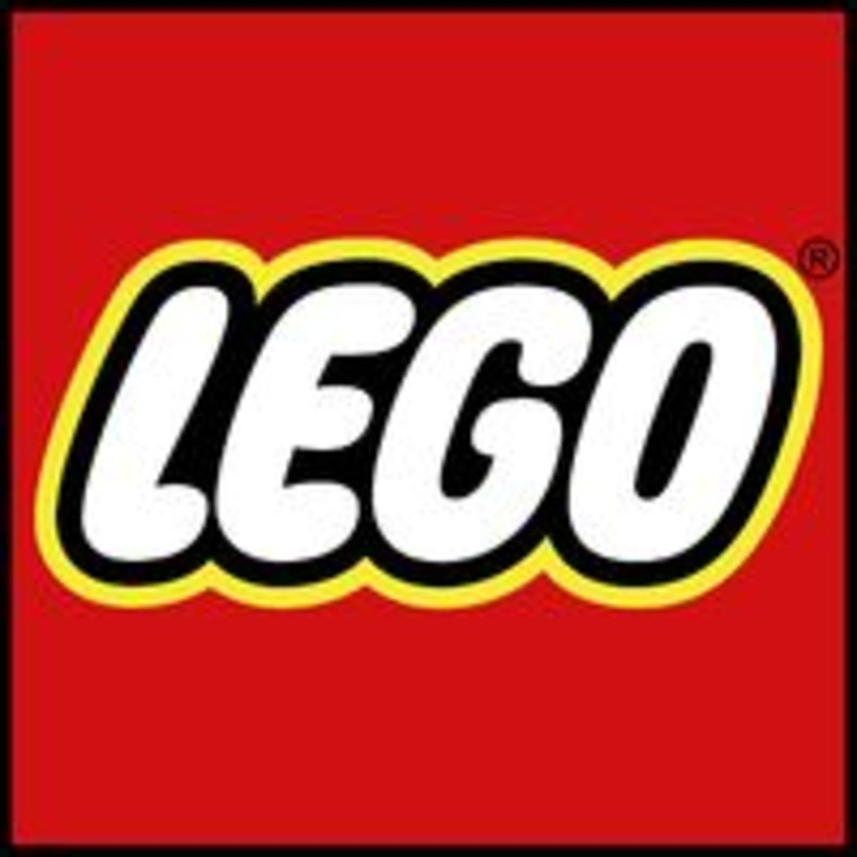The current logo for all LEGO sets.