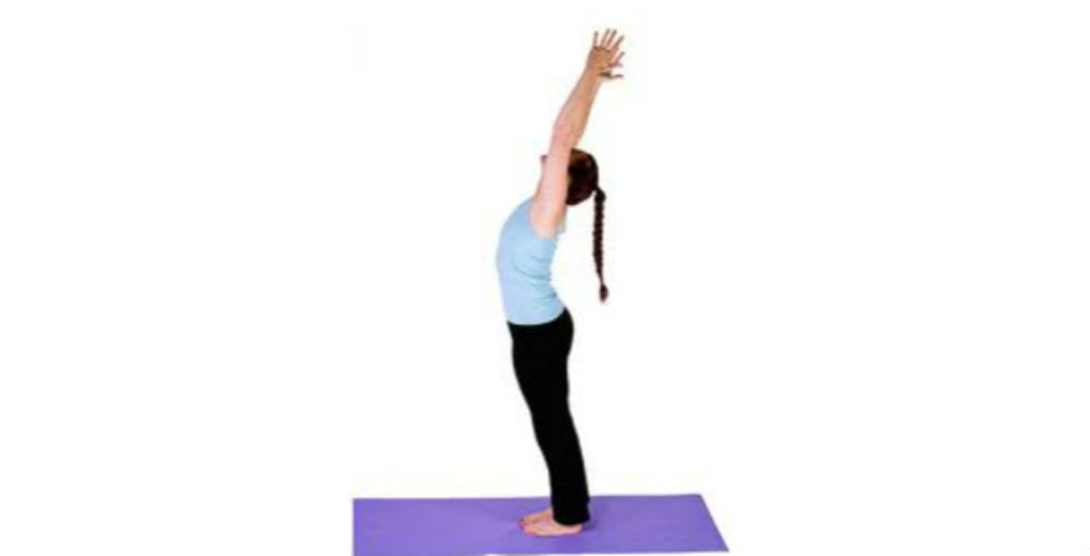 Talasana or Mountain Position