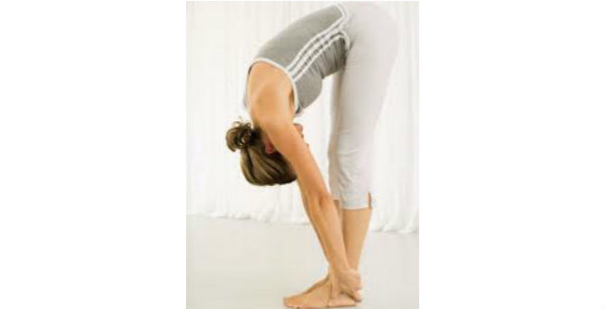 Hastapadasana or Hand to Foot Position
