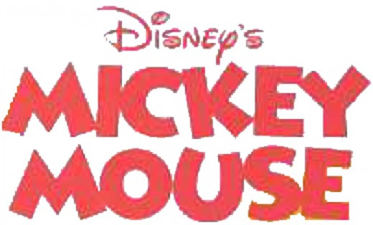 LEGO Mickey Mouse Logo