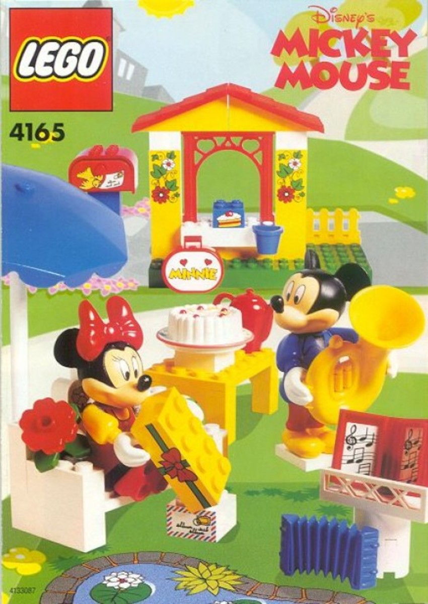 LEGO Mickey Mouse Minnie's Birthday Party 4165 Box