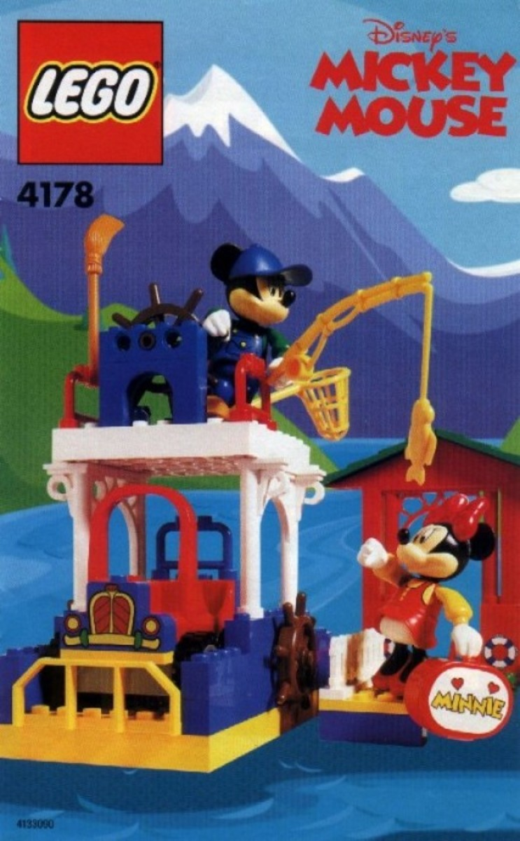 LEGO Mickey Mouse Mickey's Fishing Adventure 4178 Box