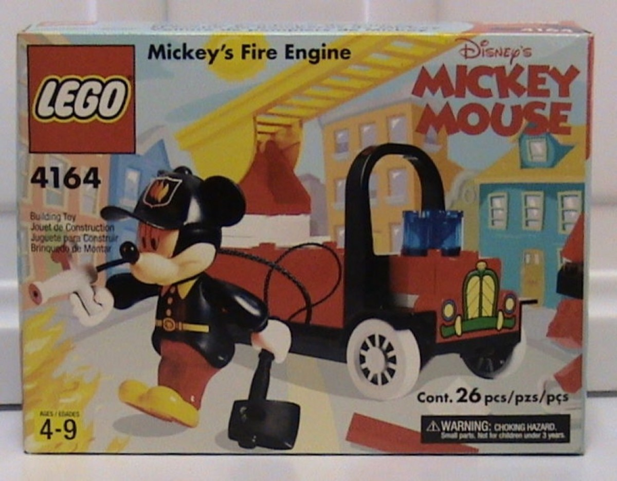 LEGO Mickey Mouse Mickey's Fire Engine 4164 Box