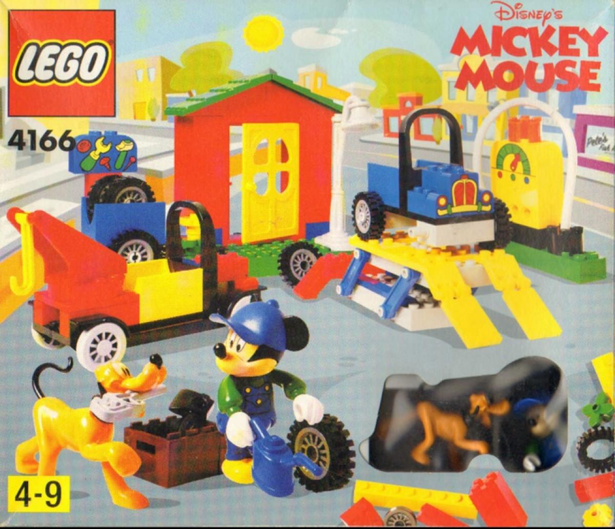 LEGO Mickey Mouse Mickey's Car Garage 4166 Box