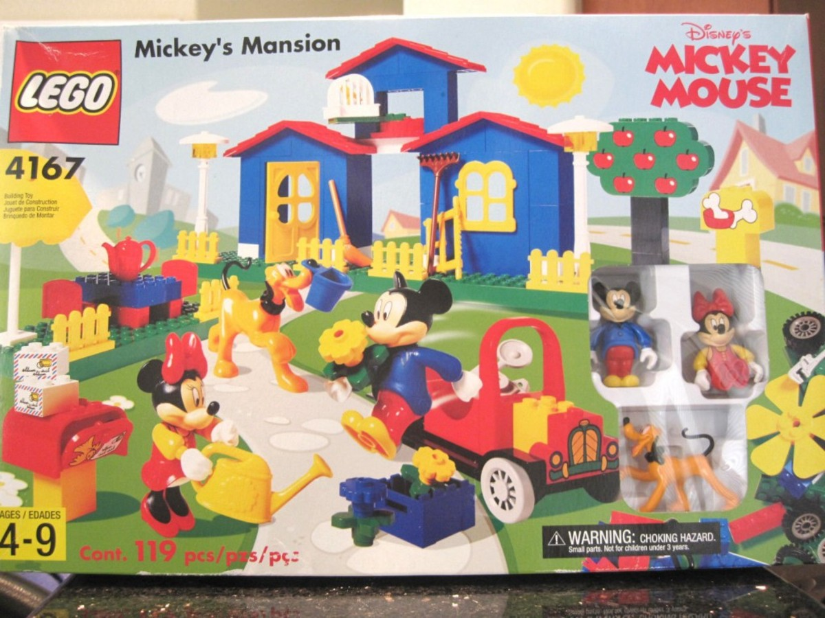 LEGO Mickey Mouse Mickey's Mansion 4167 Box
