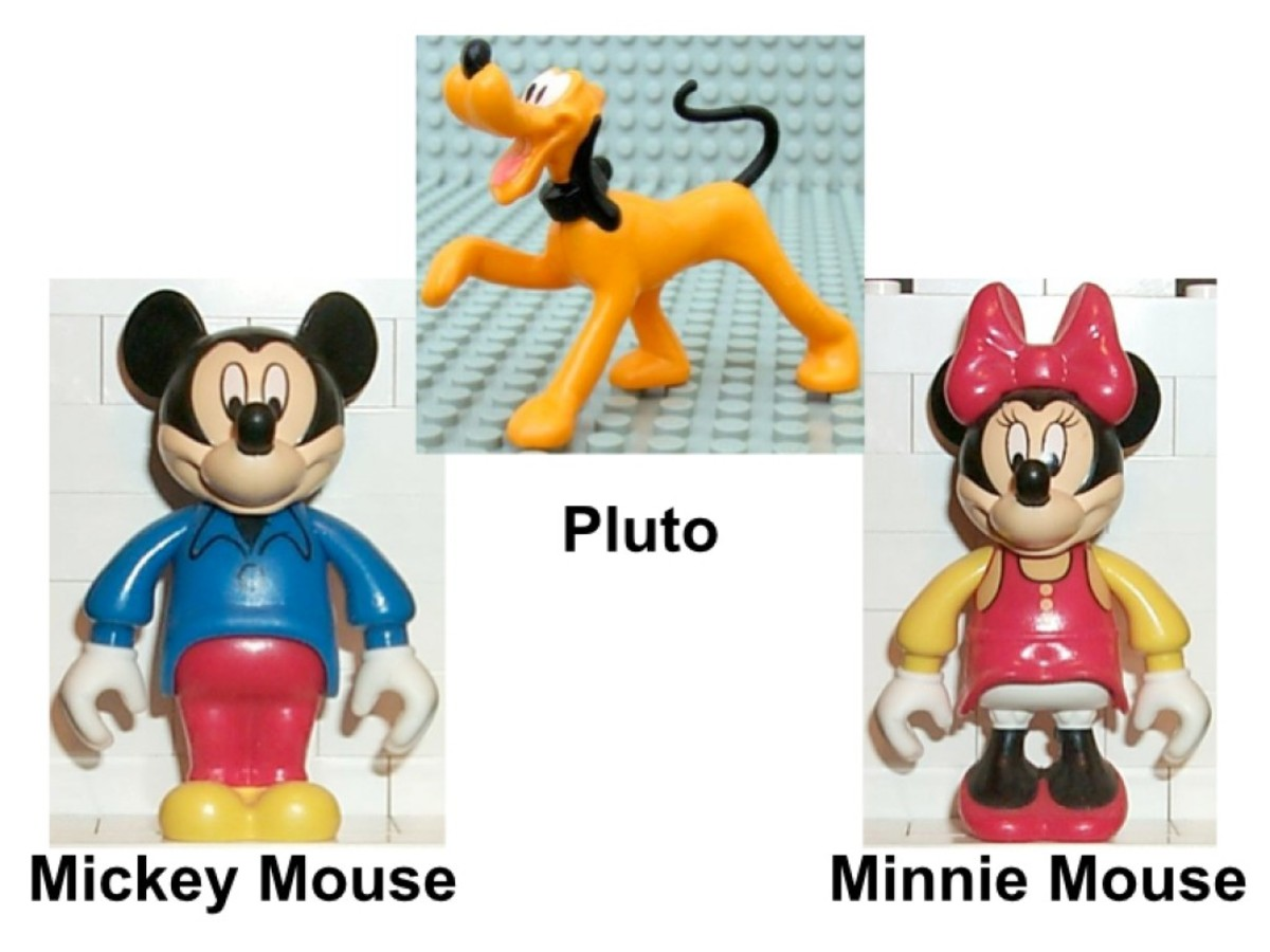 LEGO Mickey Mouse Mickey's Mansion 4167 Minifigures