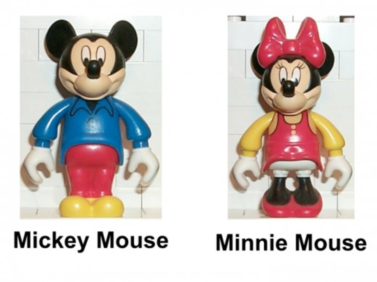 LEGO Mickey Mouse Minnie's Birthday Party 4165 Minifigures