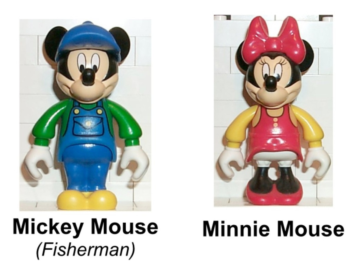 LEGO Mickey Mouse Mickey's Fishing Adventure 4178 Minifigures