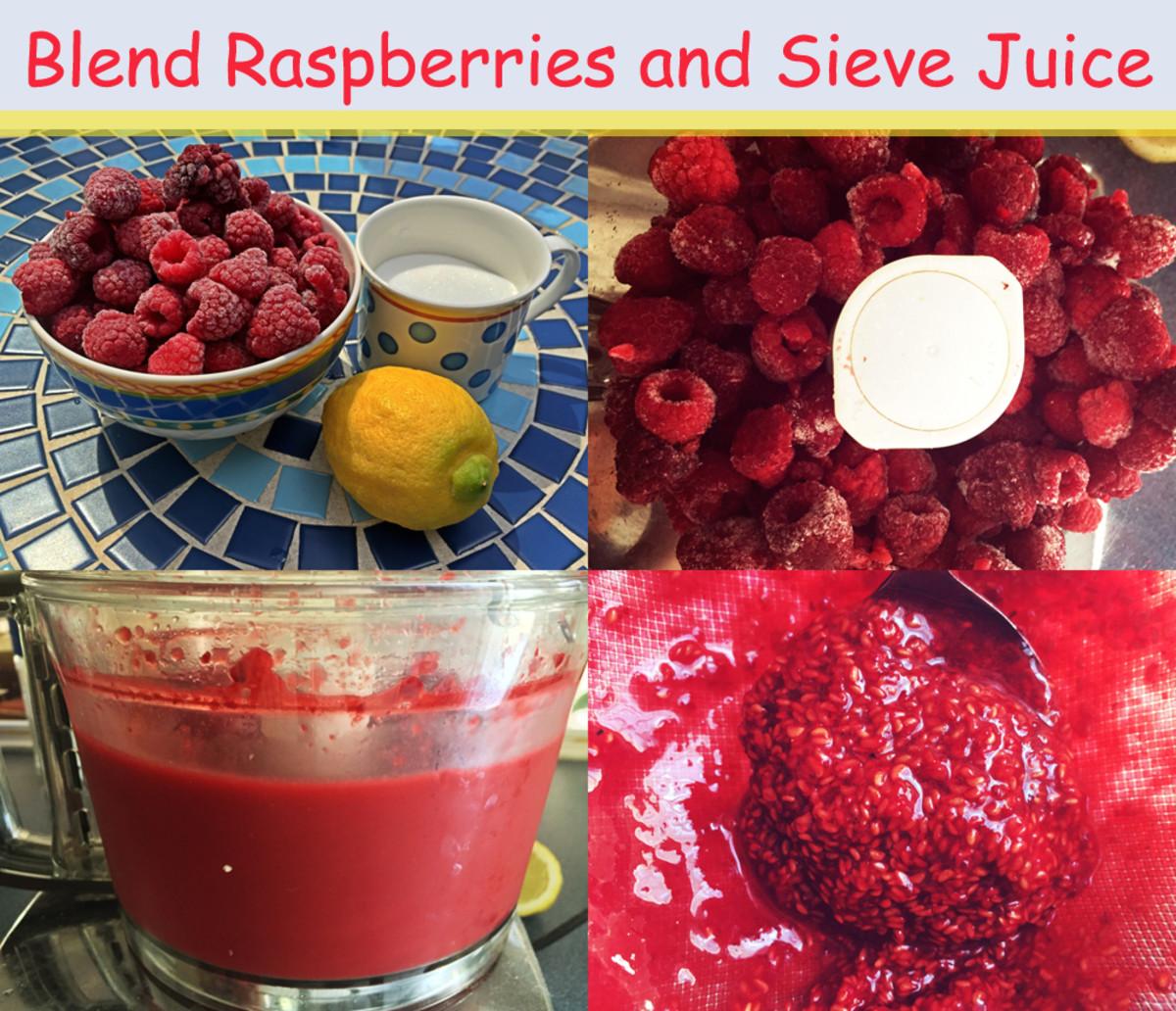 Raspberry Granita Method