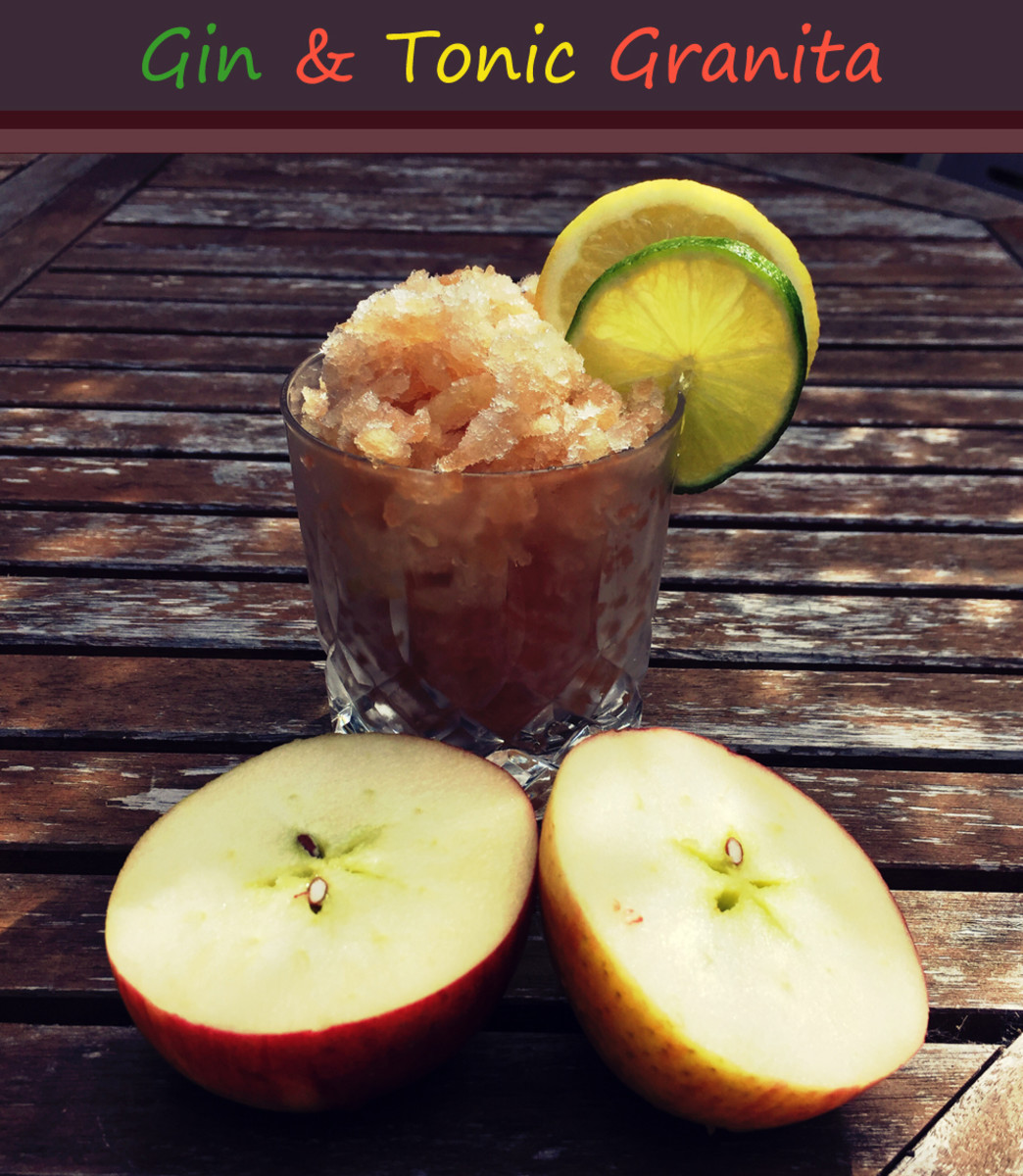 Gin and Tonic Granita