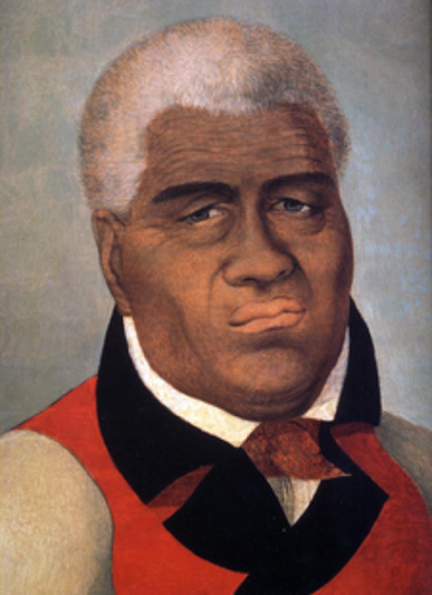 King Kamehameha I (1758-1819)