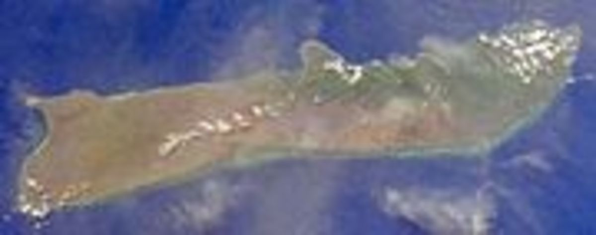 Molokai has a land area of 260 square miles