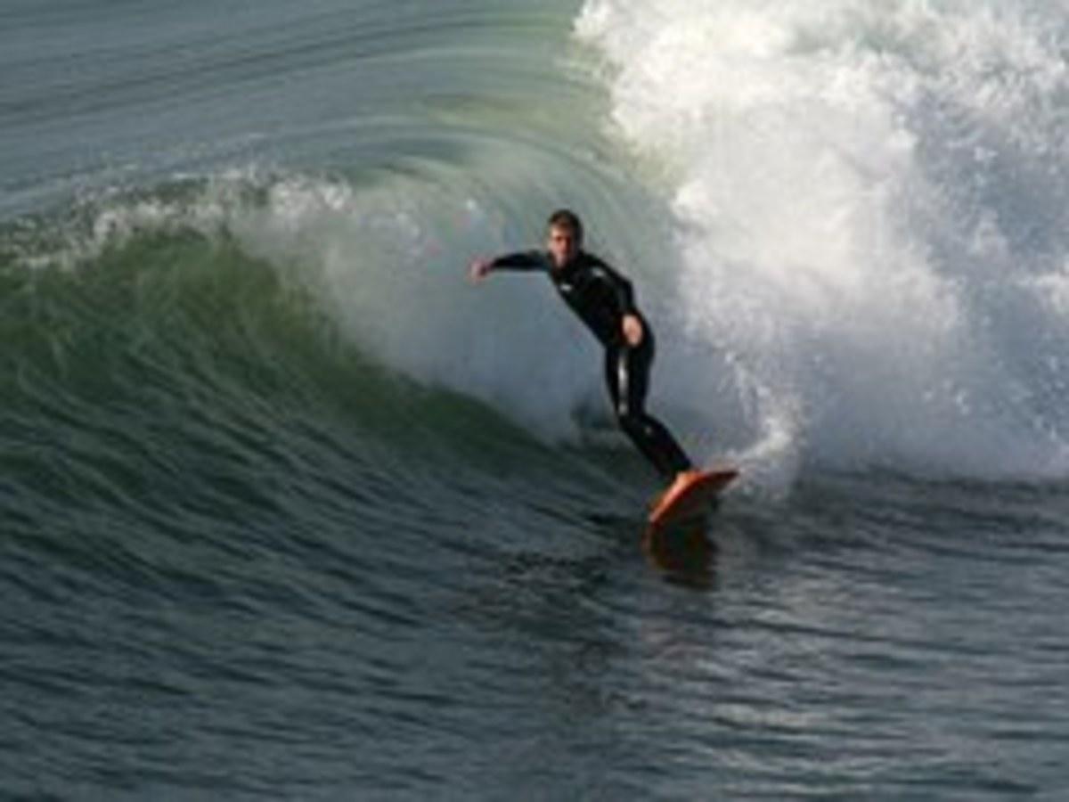 Surfing in Hawaii is Heaven.