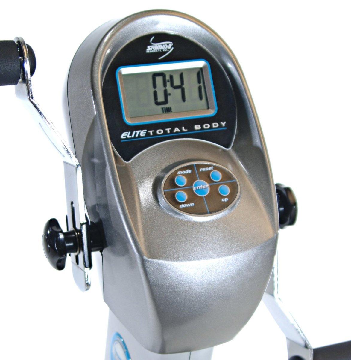 Stamina Elite Total Body Recumbent Exercise Bike console