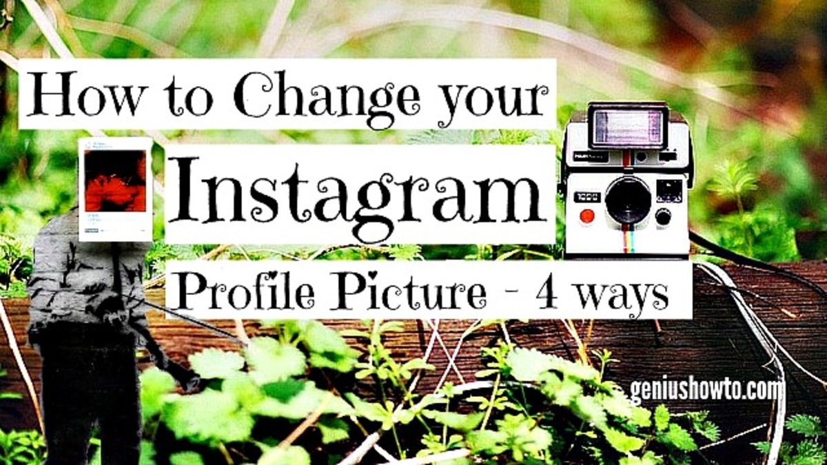How to Change Your Instagram Profile Picture