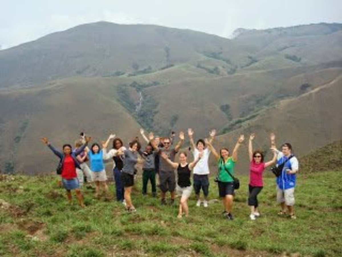 Tourists at Obudu Mountain resort in Calabar, Nigeria