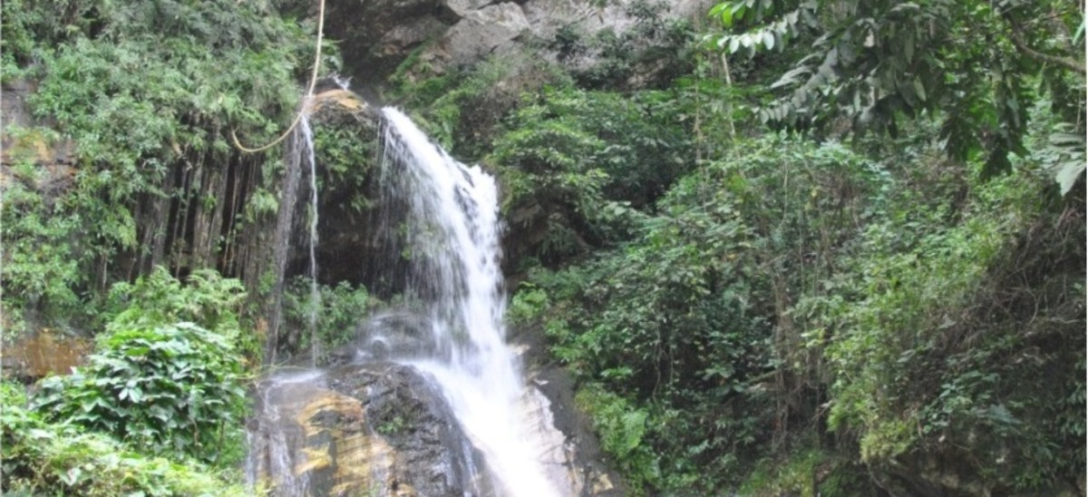 Ikogosi waterfalls