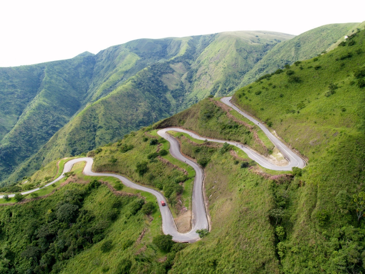 Aerial View of obudu Cattle Ranch in Calabar