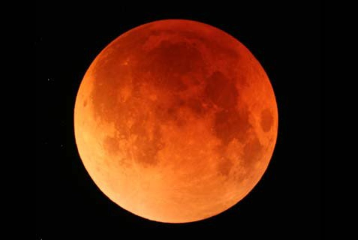 The Moon will be Red as Blood according to the Book of Joel.