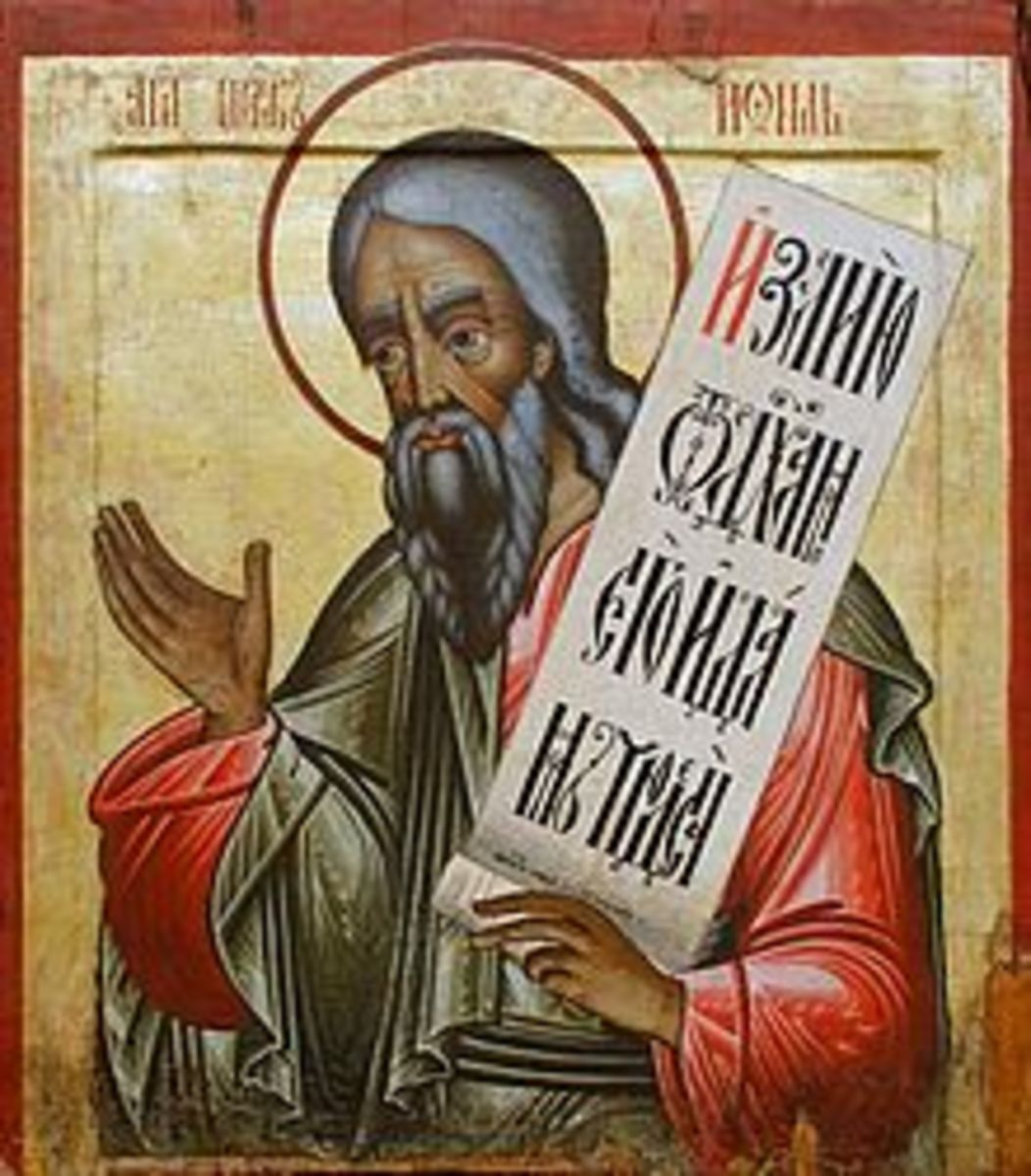 A Russian Icon of Joel created between 1700 and 1725 AD.