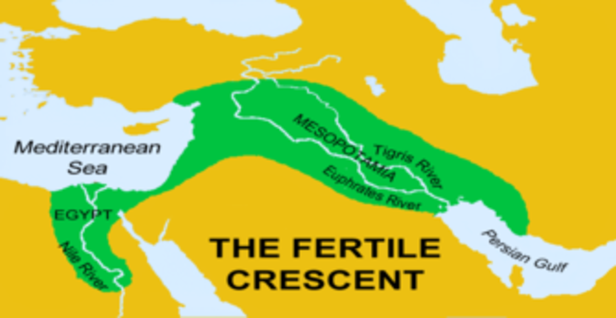 Mesopotamia is part of the Fertile Crescent and includes the Tigris and Euphrates River Valleys.