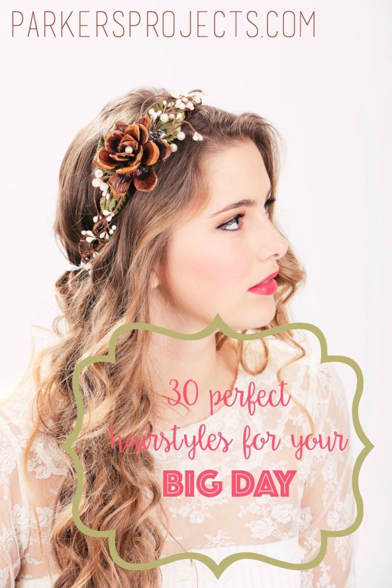 The Perfect Hair Style to go with Your Perfect Wedding Theme