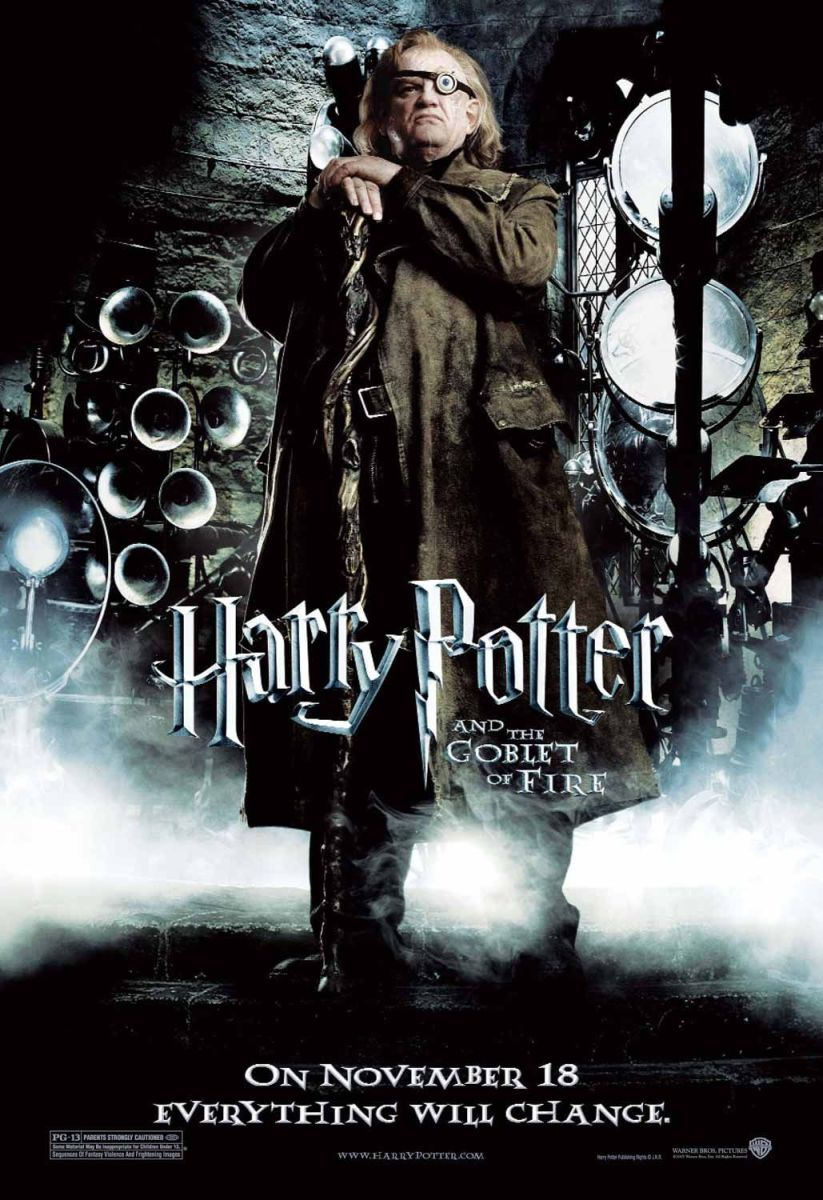 "Promotional poster for ""Harry Potter And The Goblet Of Fire"""