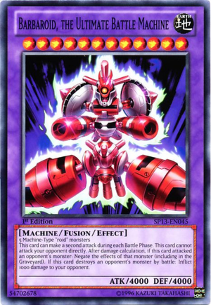Yu gi oh deck review vehicroid monsters hubpages