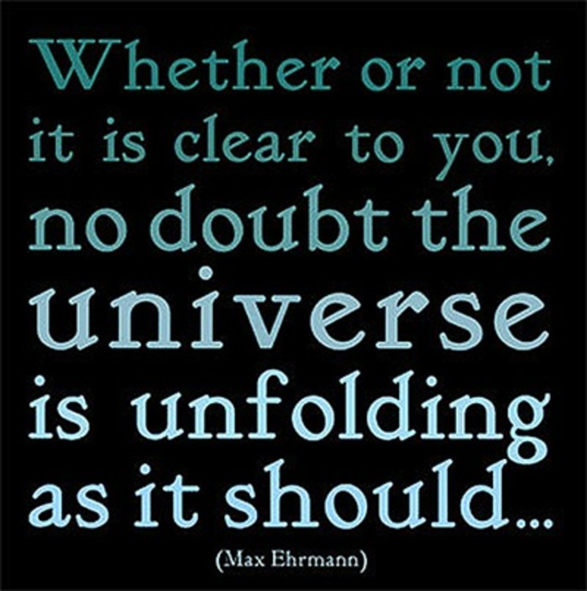Could it be possible that the universe is not unfolding, but that human consciousness is?