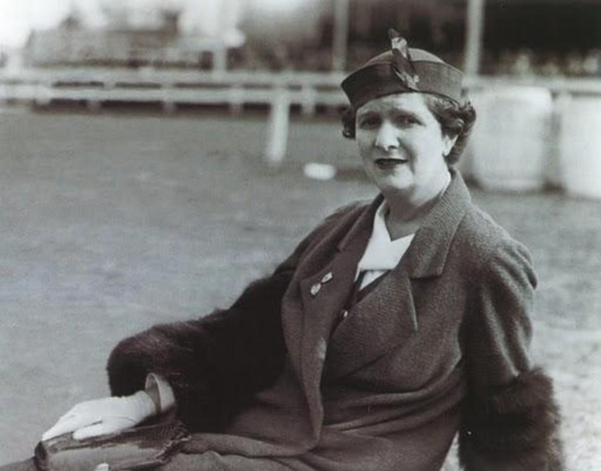 Elsie De Wolfe/Lady Mendl portrait