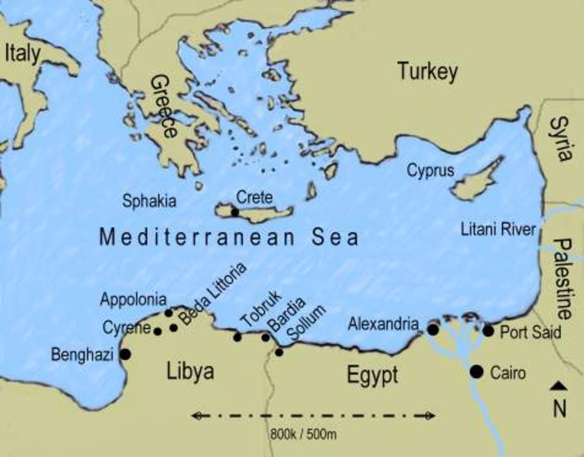 The Eastern Mediterranean theatre of war
