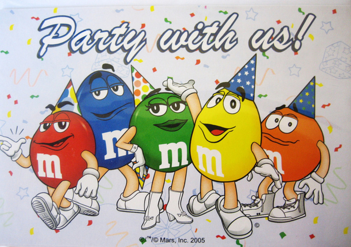 M and M Birthday Party Ideas and Supplies for a themed Party