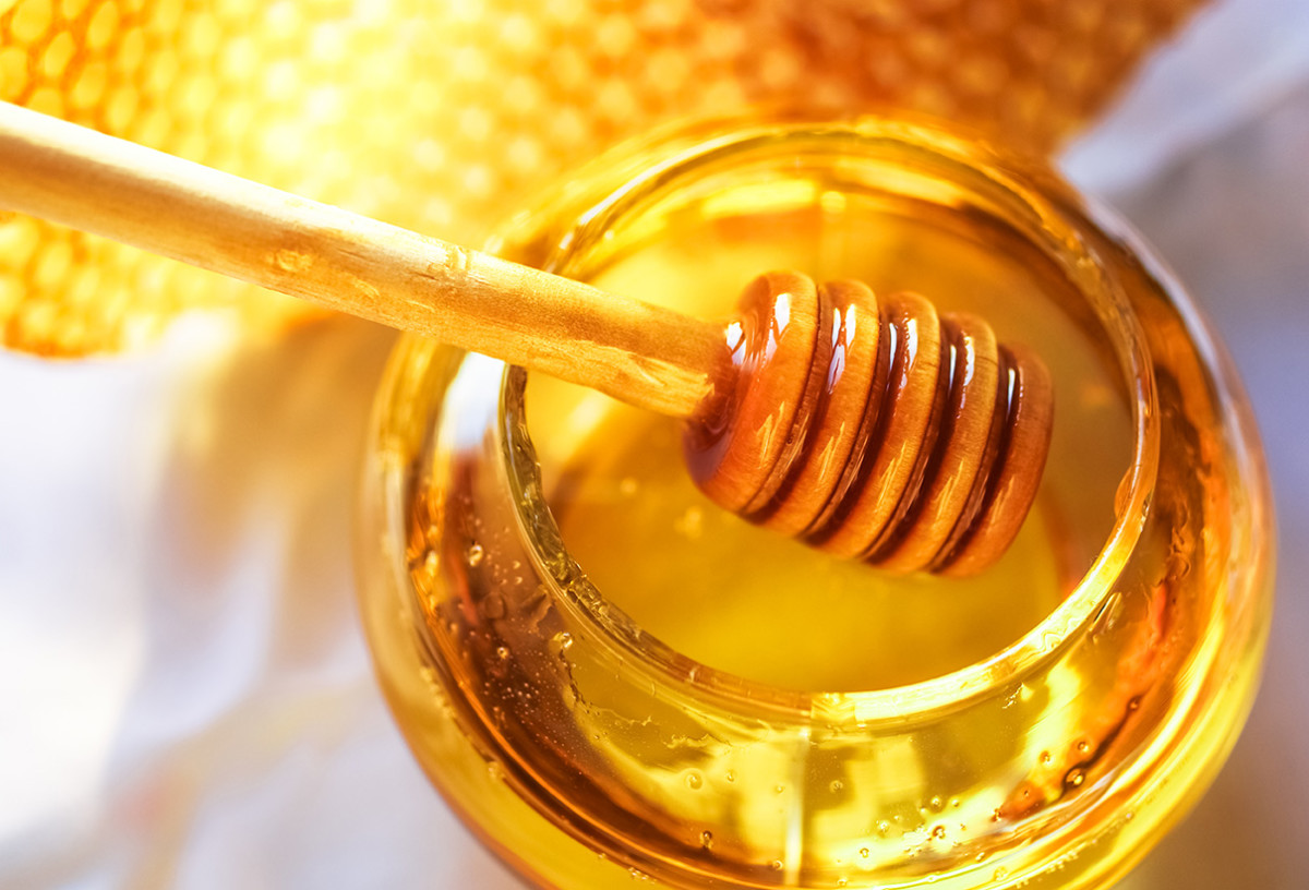 Raw honey has some amazing properties