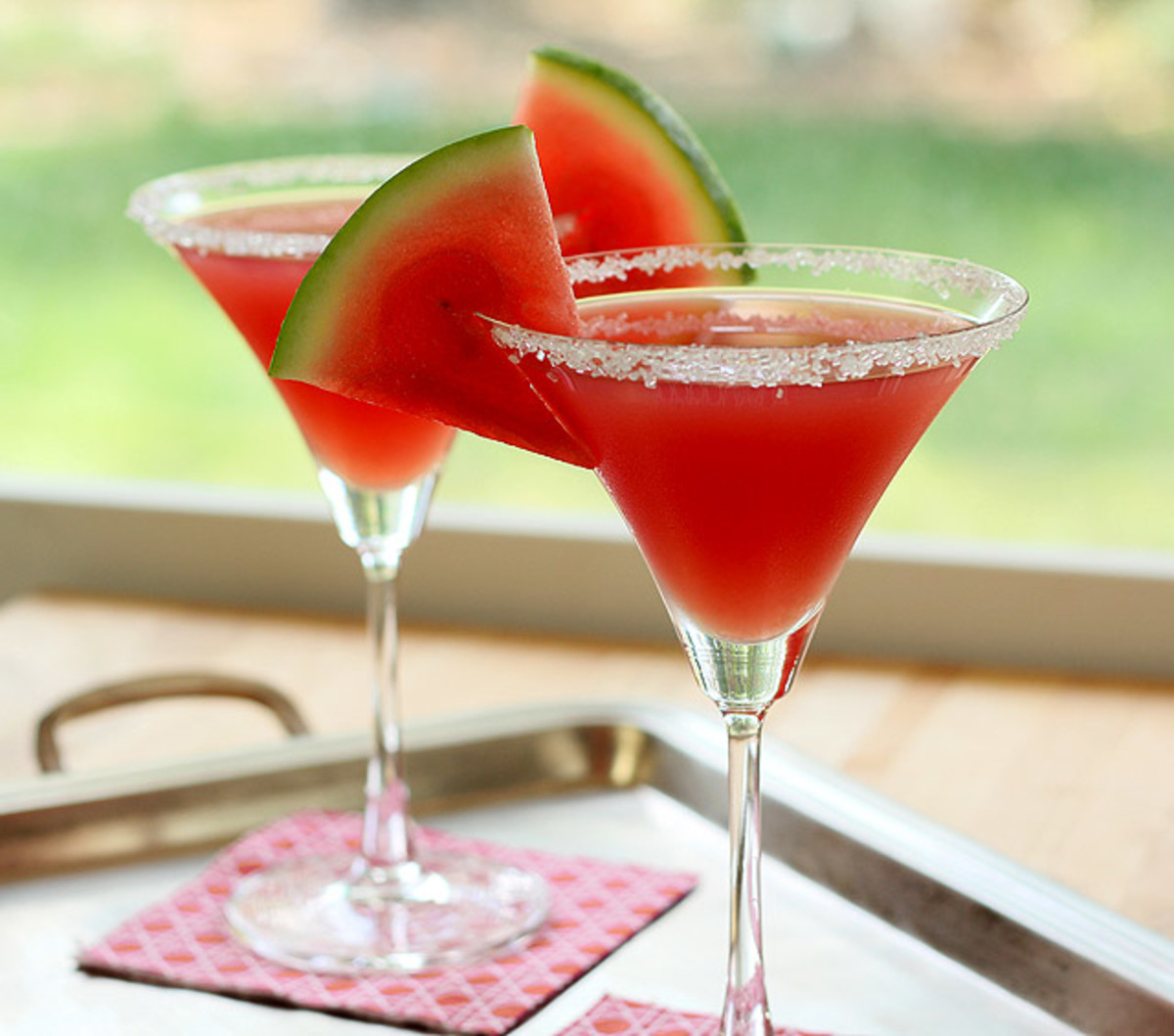 watermelon martini - might as well. Drink up!