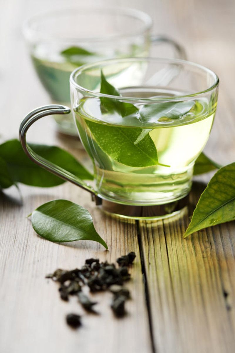 Don't drown your green tea in honey...