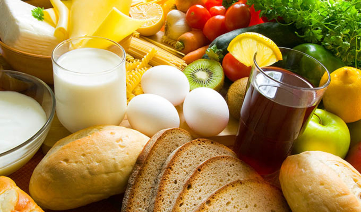 Healthy foods for energy