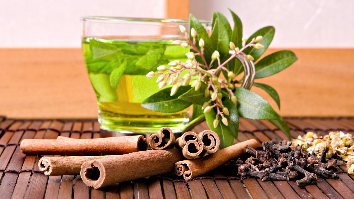 Green tea with honey and cinnamon - a super-combination!
