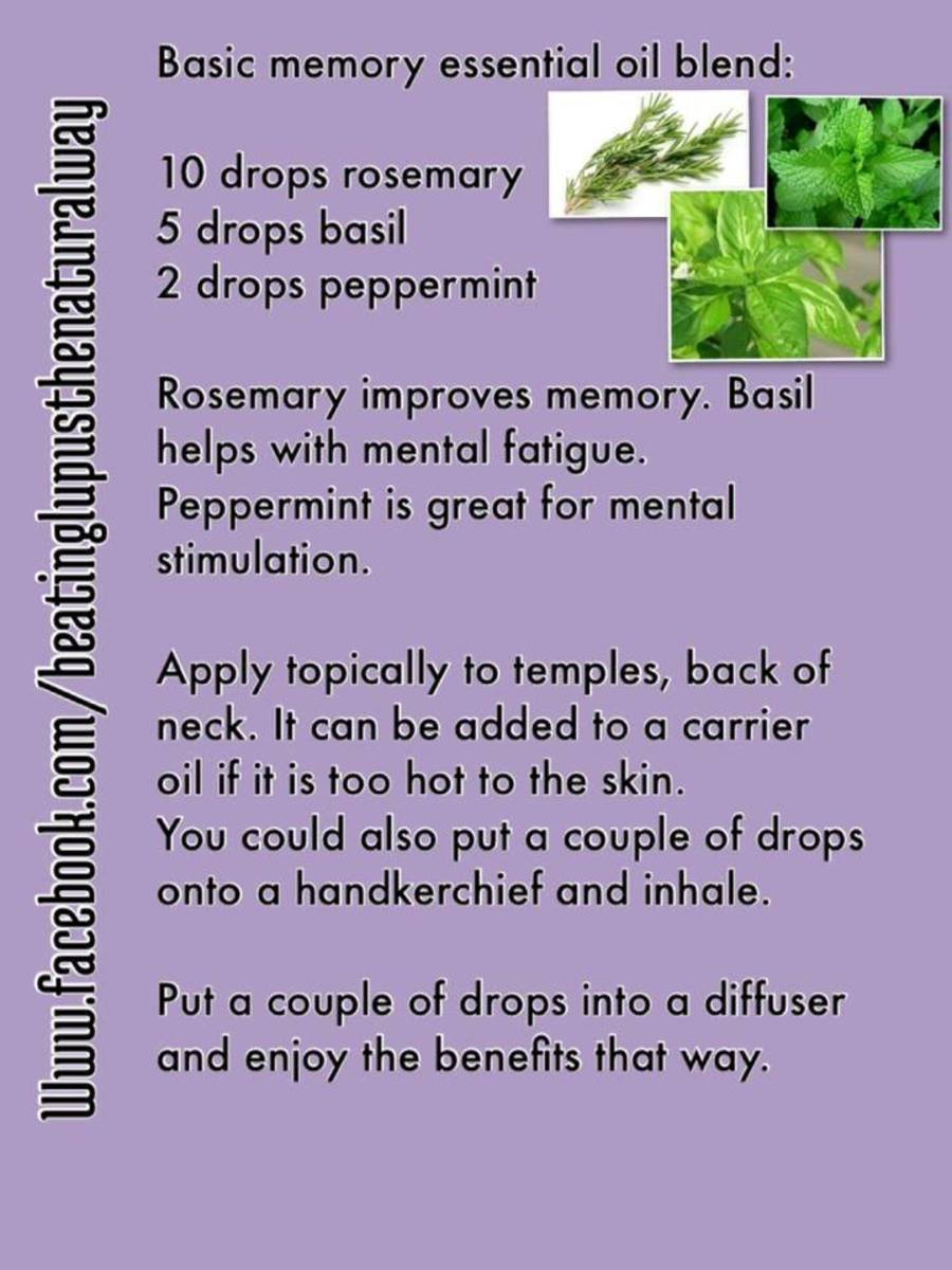 Essential Oil blend for Memory