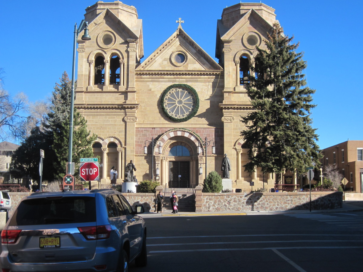 See The Cathedral Basilica of Saint Francis Of Assisi