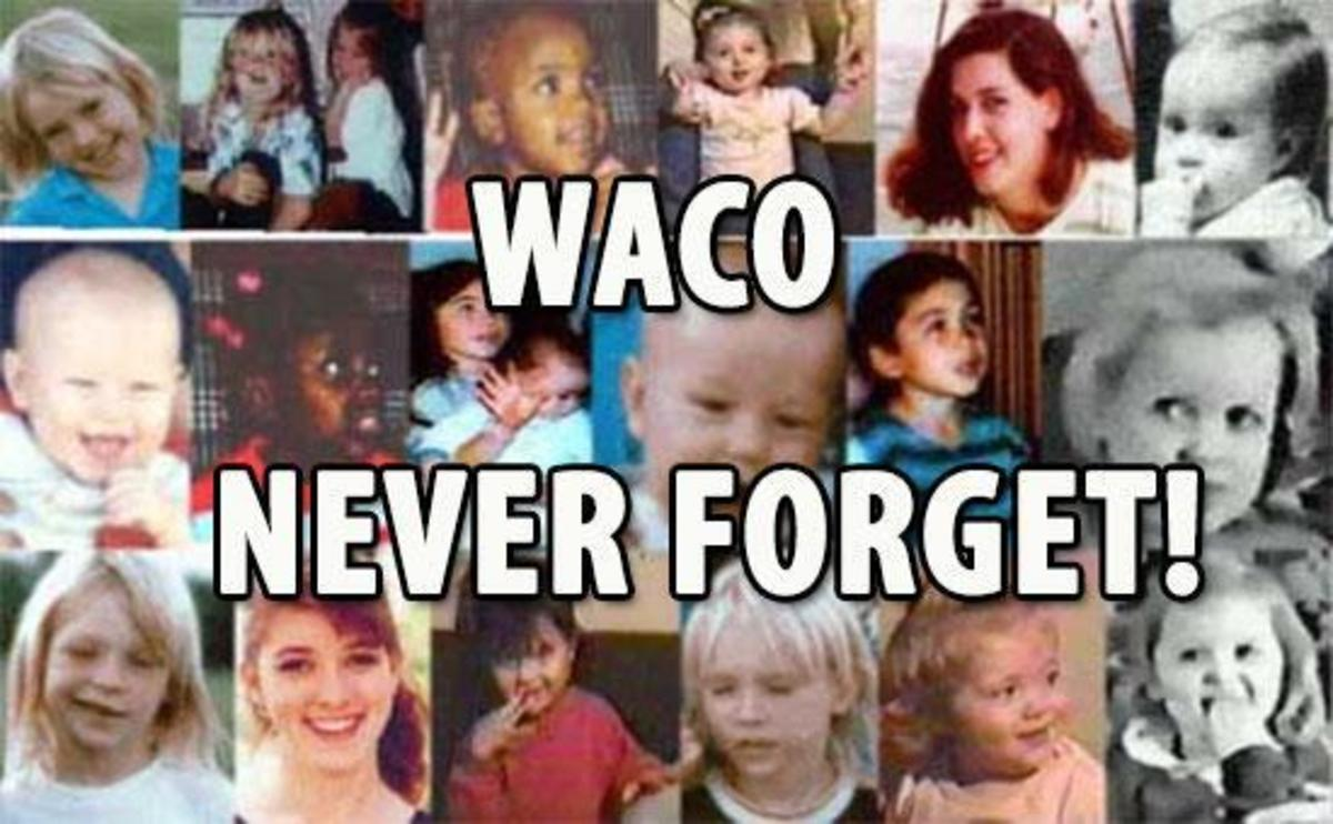Some of the Branch Davidian children who followed Koresh to death.