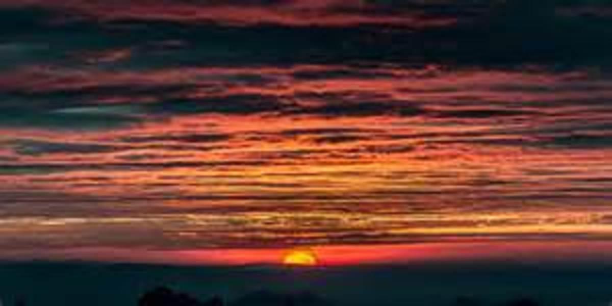 Drifted away...before sunset!