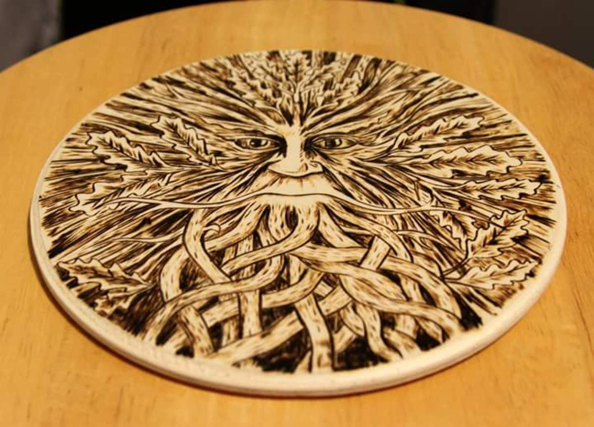 Wood Burning art and designs.