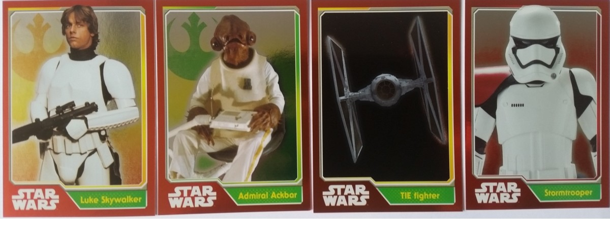 Star Wars Journey to the Force Awakens from Topps UK - A Collectors Guide